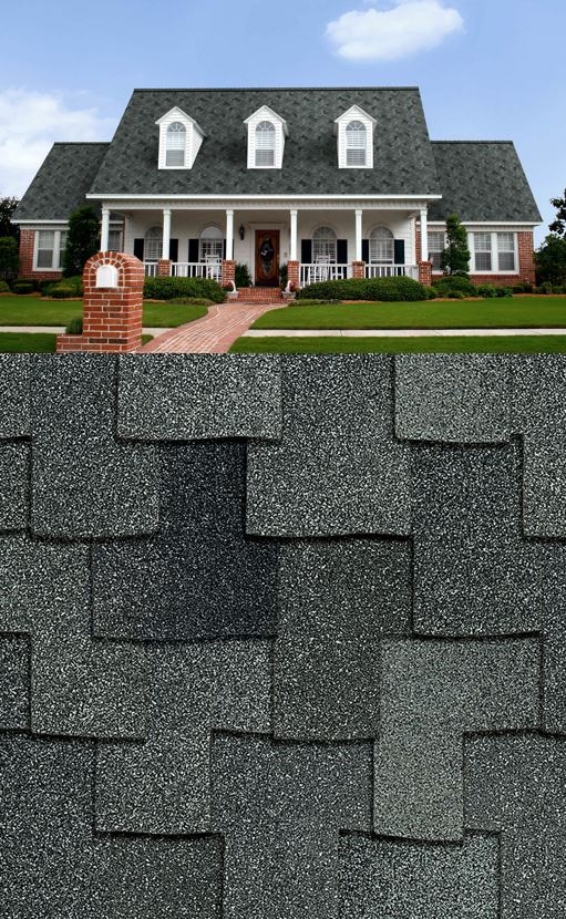 Granite - Available in Woodcrest®, Woodmoor®